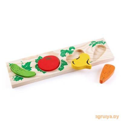 Деревянная игрушка Доска-Вкладыш «Овощи», Томик от Томик в Минске фото