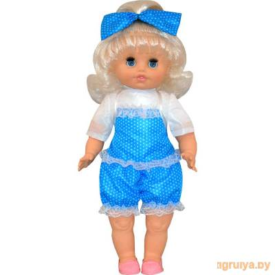 Кукла мягконабивная Настенька 6 говорящая 50см, Белкукла от Белкукла в Минске фото