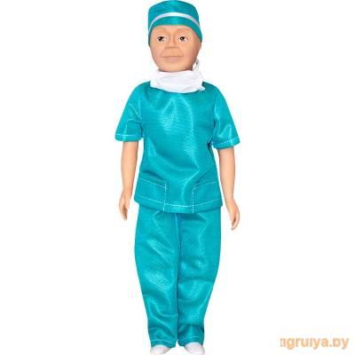 Кукла с полиэтиленовыми деталями Борис - врач 35см, Белкукла от Белкукла в Минске фото