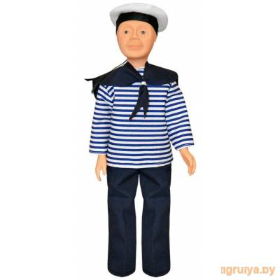 Кукла с полиэтиленовыми деталями Борис - моряк 35см, Белкукла от Белкукла в Минске фото