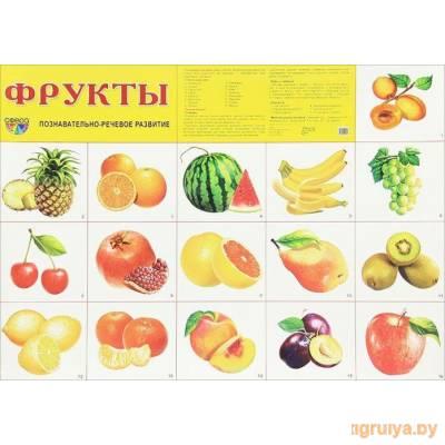 Плакат А2 «Фрукты», ТЦ СФЕРА от ТЦ СФЕРА в Минске фото