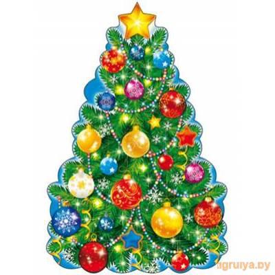 Плакат Вырубной «Новогодняя елка», ТЦ СФЕРА от ТЦ СФЕРА в Минске фото