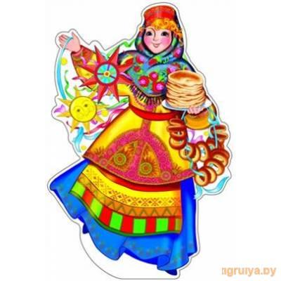 Плакат Вырубной «Масленица с блинами», ТЦ СФЕРА от ТЦ СФЕРА в Минске фото
