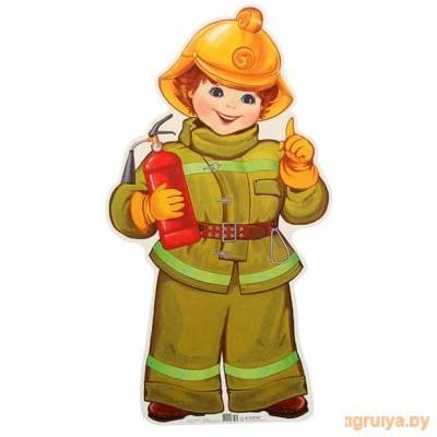 Плакат Вырубной «Пожарный», ТЦ СФЕРА от ТЦ СФЕРА в Минске фото