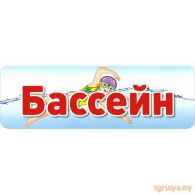 Табличка на дверь «Бассейн», ТЦ СФЕРА от ТЦ СФЕРА в Минске фото
