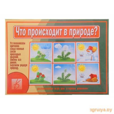 Настольная игра Что происходит в природе?, Весна-дизайн от Весна-дизайн в Минске фото